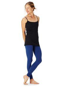 hyde yoga revised fit lydia legging   92% organic cotton, 8% spandex   www.yogahyde.com #hydeyoga #yogapants #organic