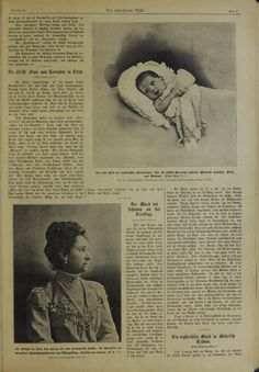 Il neonato principe ereditario Umberto .../dib/1904/19041103/00000009.jpg