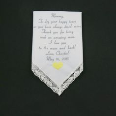 Wedding Gifts Mother of the Bride Embroidered by NapaEmbroidery