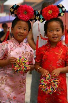 Micile chinezoaice./Port popular /China.