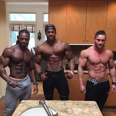Aesthetic Boyz.. Ulisses, Simeon panda and Tavi castro.
