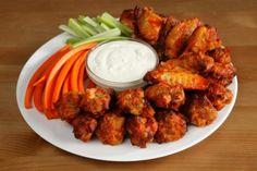 Ali di pollo fritte (finger food)