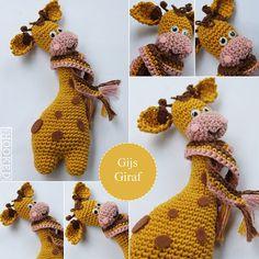 Kijk wat ik gevonden heb op Freubelweb.nl: een gratis haakpatroon van Mrs.Hooked om Gijs Giraf te maken https://www.freubelweb.nl/freubel-zelf/gratis-haakpatroon-giraf/