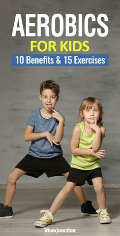 """The most important factor for improving cardiorespiratory fitness (cardio or CR) is the intensity of the workout. Changes in CR fitness are directly related to how """"hard"""" an aerobic exercise is performed. The more energy expended per Yoga For Kids, Exercise For Kids, Kids Workout, Physical Exercise, Physical Therapy, Health Benefits, Health Tips, Physical Activities For Kids, Motor Activities"""