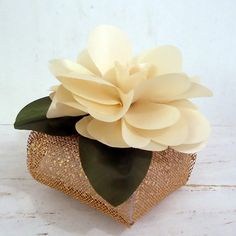 Flor para Bem Casado c/ Embalagem FBC 17