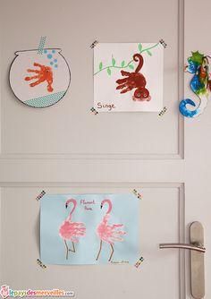 peinture enfant empreinte de main Plus