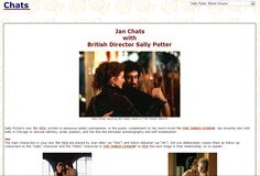Read my chat with Sally Potter.