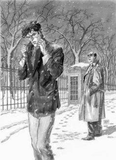 Ma perché non ti compri un cappotto? ..E a che mi serve?!? È dentro che ho freddo.. (Dylan Dog) @struruso
