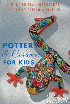 A list of several great resources and kits for fun and learning with pottery and ceramics for kids (and adults too).