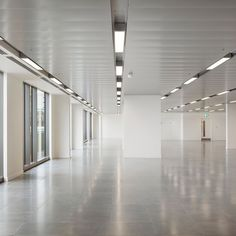 office ceilings. 25 Wilton Road (Parnell House) Elegant D-Clip Floating Ceilings In RAL 9022 Office C