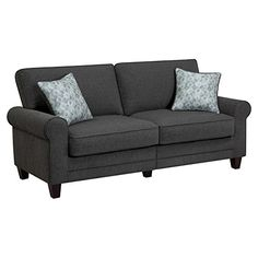 Serta RTA Copenhagen Collection 78 Sofa in Steeple Gray CR46225PB -- Check out the image by visiting the link. (Note:Amazon affiliate link)