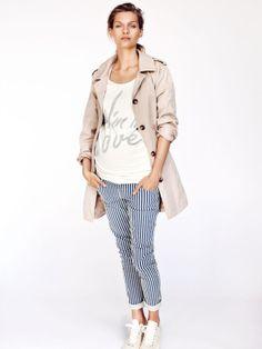 Moda premamá abrigos y gabardinas de entretiempo http://www.minimoda.es
