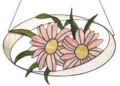 Blumenbild Tiffanytechnik