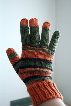 Free Coraline Knit Gloves Pattern. Pinning this because it shows how to knit fingers