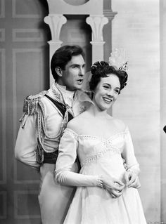 """Rodgers and Hammerstein's """"Cinderella""""  Did you know this was shown live on national television? And no commerical breaks (I don't think) for costume changes!"""