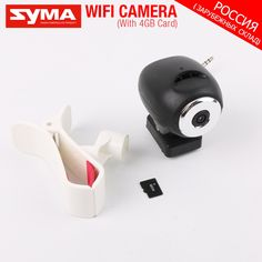 100% Original Syma X8W FPV WIFI Camera or 8MP HD Camera Spare Parts RC Quadcopter For Syma X8G X8HW X8HG X8SW With Clip AS Gift