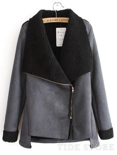 US$52.99 Temperament New Arrival Wool Zipper Long Sleeves Overcoat. #Overcoats #Overcoat #Long #New