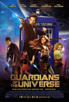 Guardians of the Universe #guardiansofthegalaxy #doctorwho