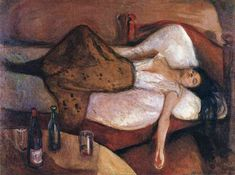 "artist-munch: "" The Day After, 1895, Edvard Munch Size: 115x152 cm Medium: oil on canvas"""