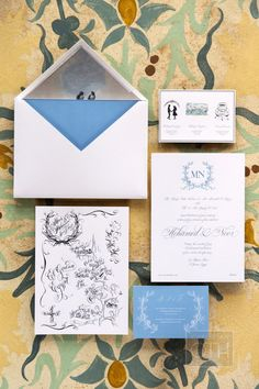 #invitation set for a cultural Egyptian wedding | Photography: Christian Oth Studio - christianothstudio.com  Read More: http://www.stylemepretty.com/2014/07/23/egyptian-red-sea-resort-wedding/