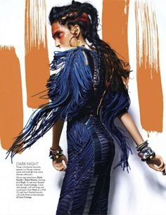 Ninja Singh by Suresh Natarajan for Vogue India (March 2012) Editorial: Call Of The Wild