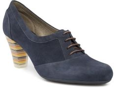 Striped heels with blue body for Spring!  Camper Diana 21758-002 Shoe Women. Official Online Store