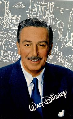 Walt Disney  - Thank you for all you gave the world! :'3