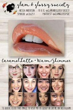 Caramel Latte LipSense, Warm/Yellow Base, Shimmer Finish To Order: Click this image to visit Glam & Glossy Society's FB Client Group or DM me on Instagram @Glam.and.Glossy.Society  Keywords: Lips, beauty, makeup, fashion, 2017, matte, gloss, lip color, lip stick