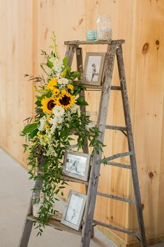 Sunflower, babys breath, orchid wedding flowers // Little Miss Lovely Floral Design // Kylan Barn Wedding // Ocean City Wedding Florist wedding centerpieces K + D Wedding // Kylan Barn -- Delmar, MD Sunflower Wedding Decorations, Sunflower Party, Sunflower Baby Showers, Sunflower Wedding Flowers, Barn Wedding Flowers, Barn Wedding Centerpieces, Sunflower Wedding Invitations, Flowers Decoration, Fall Sunflower Weddings