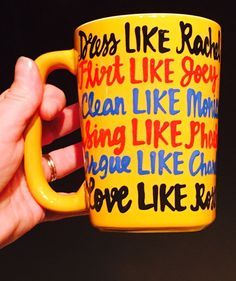 F•R•I•E•N•D•S be like Friends-MUG- friends- friends tv show- rachel| ross| monica|chandler| phoebe| joey