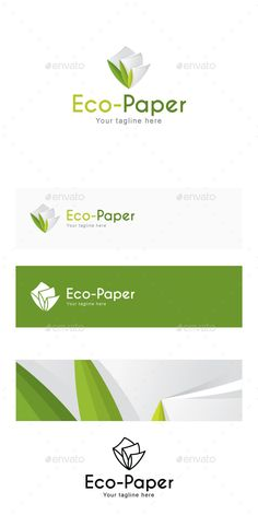 Eco Paper - Recyclable Stationary Products Stock   for Manufacturing & Green Projects Logo Design Template Vector #logotype Download it here: http://graphicriver.net/item/eco-paper-recyclable-stationary-products-stock-logo-template-for-manufacturing-green-projects/14440741?s_rank=206?ref=nexion