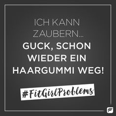 Seid Ihr auch Zauberinnen? #FitGirlProblems