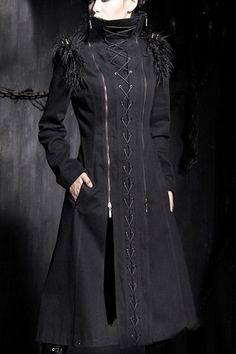 Equilibrium Corseted Coat by Punk Rave | Ladies Gothic