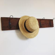 Kauri, timber, upcycle, DIY, recycled, reclaimed, industrial coat / hat rack