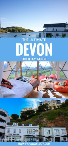 Devon is the best place in England for a staycation. It's the perfect place for an adrenaline fuelled break with plenty of walking and cycling trails, canoeing, caving, climbing or abseiling on offer. Other must-see places are Exeter, the English Riviera and Salcombe! Click through to read more...