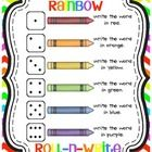 This colorful freebie is perfect for word work!  Your kiddos will love rolling dice to find out which color they should use when writing. Just add ...