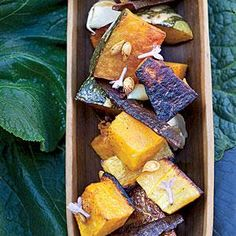 Sugar-and-Spice-Roasted Squash | MyRecipes.com