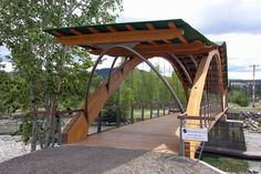 StructureOregon Boost Your Knowledge on Innovative Uses of Wood Products in Buildings Bamboo Architecture, French Architecture, Amazing Architecture, Architecture Design, Timber Structure, Building Structure, Interior Exterior, Exterior Design, Uses Of Wood