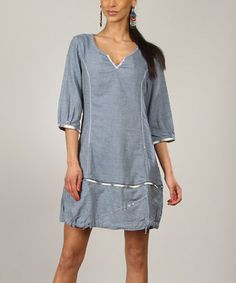 Another great find on #zulily! Blue Anais Shift Dress #zulilyfinds
