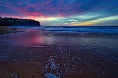 The Colorful Ocean Shore