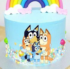 Little Girl Birthday, Dog Birthday, Birthday Cake, Family Logo, Abc Family, Family Movies, Abc Birthday Parties, Bingo Cake, Christmas Movies