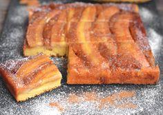 Fordított banános karamelles süti
