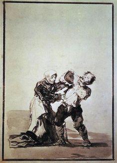 Después lo verás  - Francisco de Goya