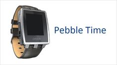 Pebble Time is the new colour e-paper display watch, which has an extremely user friendly display for incoming notifications. E Paper Display, Technology Updates, New Gadgets, Smartwatch, Latest Trends, Product Launch, Apple, Watches, Smart Watch