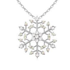 Snowflake Necklace $30.00