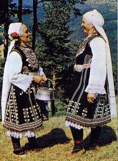 Costume of Sofia area, Shop region, Bulgaria