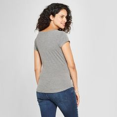 a82c308d Maternity Due In February Short Sleeve Graphic T-Shirt - Grayson Threads  Charcoal Gray XL