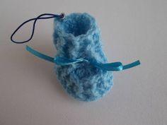 Lembrancinha de sapatinho de crochê | Miss Kuki | 2222F5 - Elo7