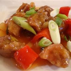 Sweet and Sour Pork III Allrecipes.com