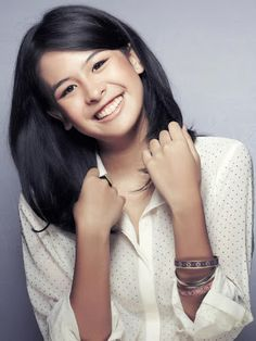 Maudy Ayunda Just Beauty, Beauty Women, Hair Beauty, Asian Woman, Asian Girl, Indonesian Girls, Smart Girls, Celebs, Celebrities